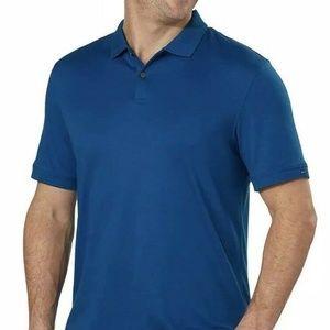 Calvin Klein Men's Liquid Touch Short Sleeve Polo